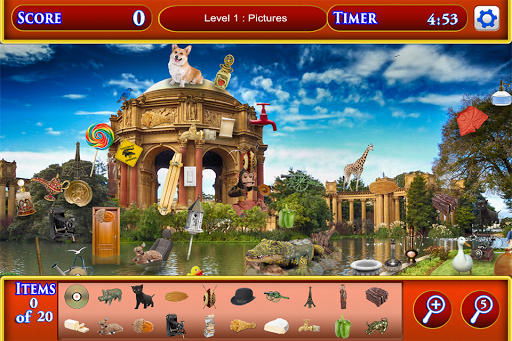 Hidden Object San Francisco pc screenshot 1