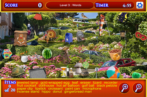 Hidden Object San Francisco pc screenshot 2