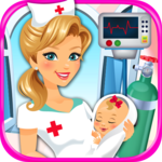 Newborn Baby Maternity Nurse - Mom & Baby Games! icon