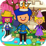 My Pretend Fairytale Land - Kids Royal Family Game icon