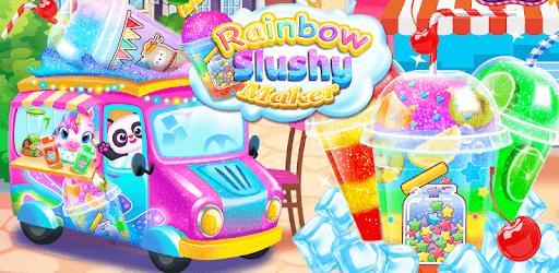 Rainbow Frozen Slushy Truck: Ice Candy Slush Maker pc screenshot