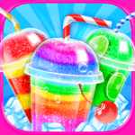 Rainbow Frozen Slushy Truck: Ice Candy Slush Maker icon