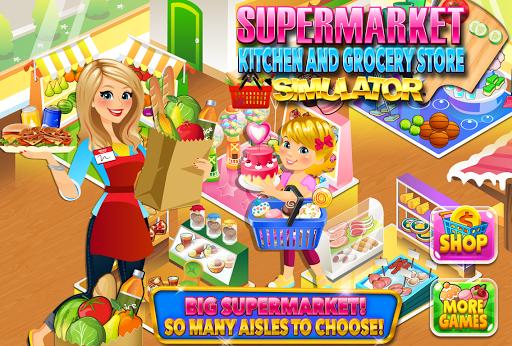 Supermarket Kitchen & Grocery Cooking Games APK screenshot 1