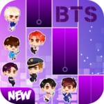 BTS Chibi Piano Tiles icon