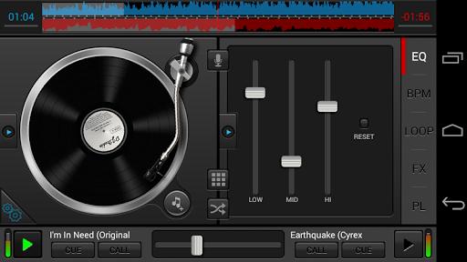 DJ Studio 5 - Free music mixer APK screenshot 1