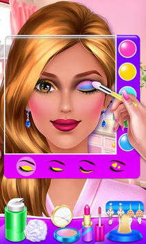 Wedding Makeup Artist Salon APK screenshot 1