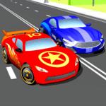 Super Kids Car Racing In Traffic icon