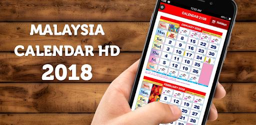 Malaysia Calendar 2018 & 2019 HD pc screenshot