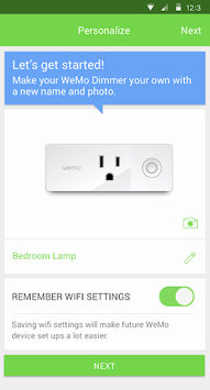 Wemo APK screenshot 1
