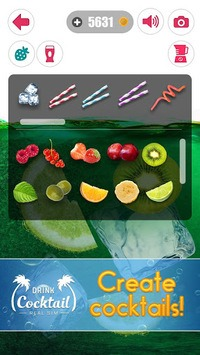 Drink Cocktail Real Sim APK screenshot 1