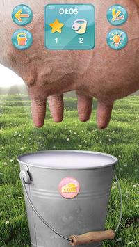 Milking Cow Simulator APK screenshot 1