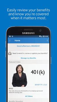Benefitfocus® APK screenshot 1