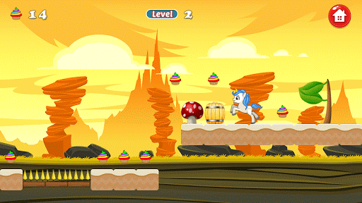 Unicorn Dash Attack APK screenshot 1