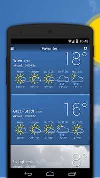 bergfex/Weather App - Forcast Radar Rain & Webcams APK screenshot 1