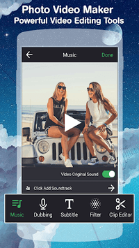 Photo Video Maker With Music APK screenshot 1