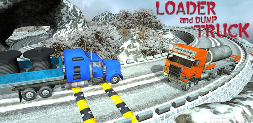 Truck Driving Uphill - Loader and Dump pc screenshot