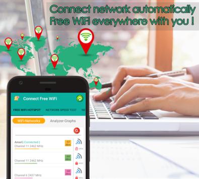 Free WiFi Connect Internet Connection Find Hotspot APK screenshot 1