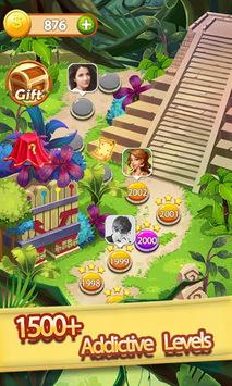 Gems & Jewels - Match 3 Jungle Puzzle Game APK screenshot 1