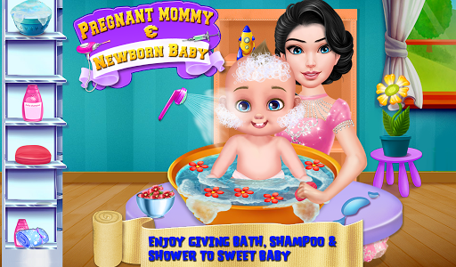 Pregnant Mommy & Newborn Baby APK screenshot 1