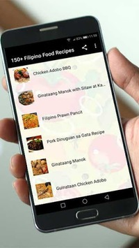 150+ Filipino Food Recipes APK screenshot 1