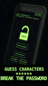 I Hacker - Password Game APK screenshot 1