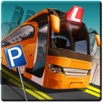 Bus Driving School 2017: 3D Parking simulator Game icon