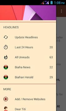 Biafra News + TV + Radio App APK screenshot 1