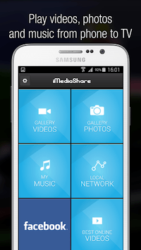iMediaShare – Photos & Music APK screenshot 1