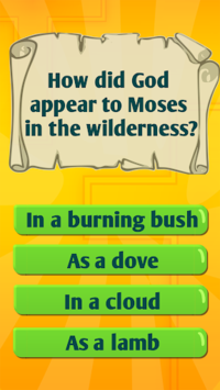 Bible Trivia Quiz Game With Bible Quiz Questions APK screenshot 1
