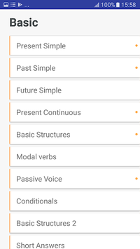 English Grammar Practice 2018 APK screenshot 1