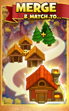 Robin Hood Legends – A Merge 3 Puzzle Game APK screenshot 1