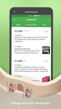Daybook - Diary, Journal, Note APK screenshot 1