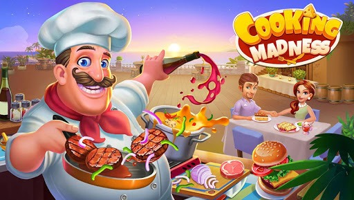 Cooking Madness - A Chef's Restaurant Games APK screenshot 1