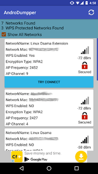 AndroDumpper Wifi ( WPS Connect ) APK screenshot 1
