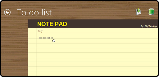 Notepad pc screenshot