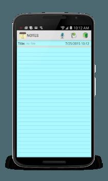 Notepad APK screenshot 1