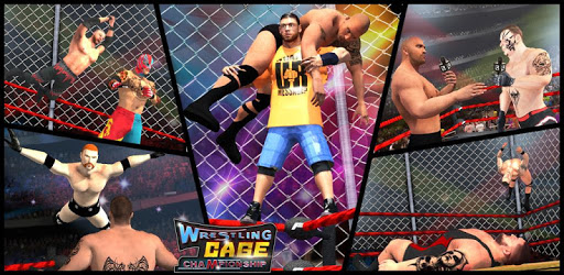 Wrestling Cage Championship : WRESTLING GAMES pc screenshot