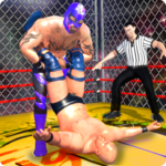Wrestling Cage Championship : WRESTLING GAMES for pc icon