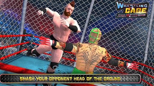 Wrestling Cage Championship : WRESTLING GAMES APK screenshot 1