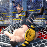 Wrestling Cage Revolution : Wrestling Games for pc icon