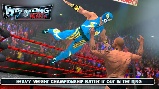 Wrestling Mania : Wrestling Games & Fighting APK screenshot 1