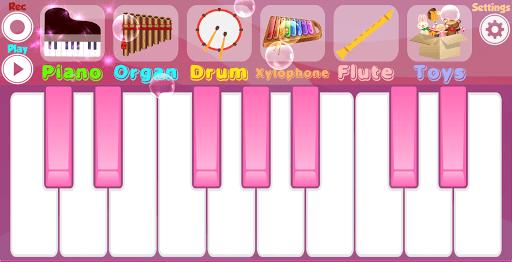 Pink Piano APK screenshot 1