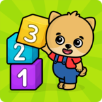 Learning numbers for kids APK icon