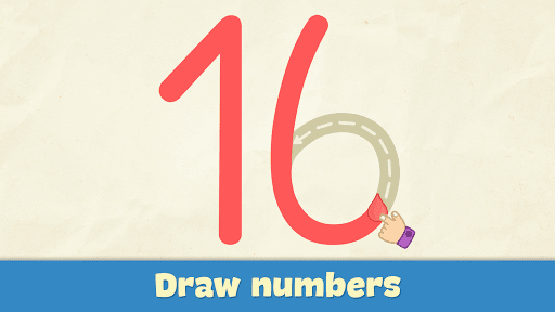Learning numbers for kids APK screenshot 1