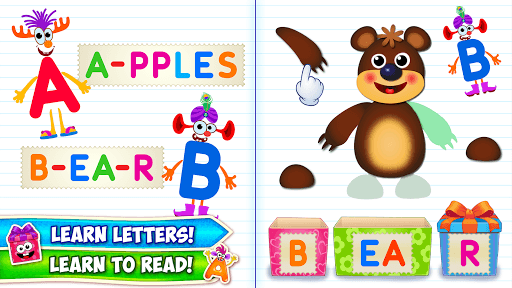 Baby ABC in box! Kids alphabet games for toddlers! APK screenshot 1