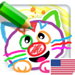 Drawing for Kids Learning Games for Toddlers age 3 APK icon