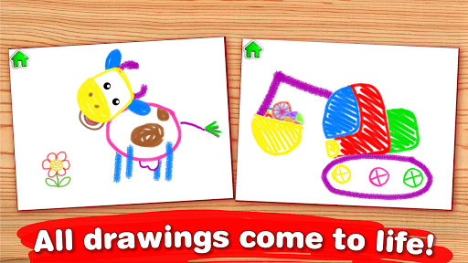 Drawing for Kids Learning Games for Toddlers age 3 APK screenshot 1