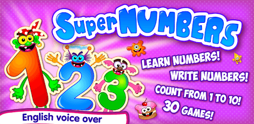 Learning numbers for kids! Writing Counting Games! pc screenshot