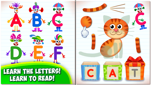Bini Super ABC! Preschool Learning Games for Kids! APK screenshot 1