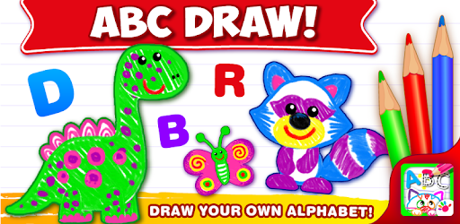 ABC DRAW! Alphabet games Preschool! Kids DRAWING 2 pc screenshot